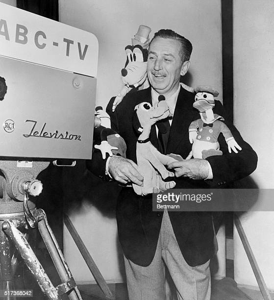After more than a year of study and exploration of the television field Walt Disney today signed an exclusive long term agreement with the American...