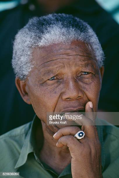 After more then 27 years in jail as an antiapartheid activist Nelson Mandela lead a 1994 campaign for President as a member of the African National...