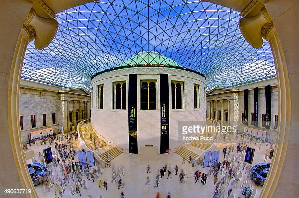 After moving the British Library to St. Pancras, the central quadrangle of the British Museum in London was redeveloped to become the Queen Elizabeth...