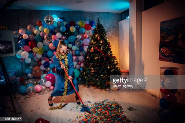 after party cleaning is so fun - cleaning after party stock pictures, royalty-free photos & images
