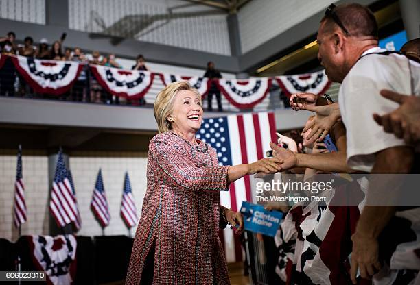 GREENSBORO NC After several days of recovering from pneumonia at home Democratic Nominee for President of the United States former Secretary of State...
