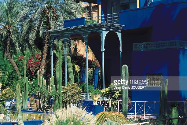 After several travels to Morocco the French painter Jacques Majorelle had a splendid villa with gardens built in 1922 in the Guliz district of...