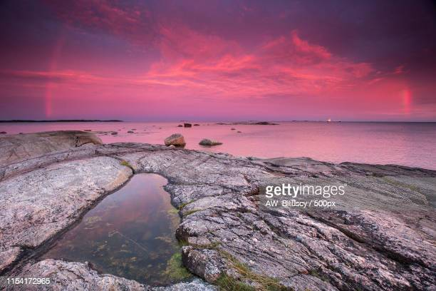 after storm, kaunissaari fagero island, gulf of finland, finland - vanda stock pictures, royalty-free photos & images