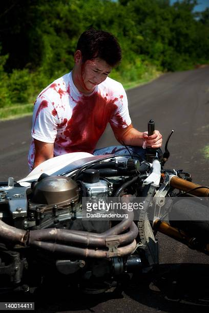 60 Top Motorcycle Accident Pictures, Photos, & Images