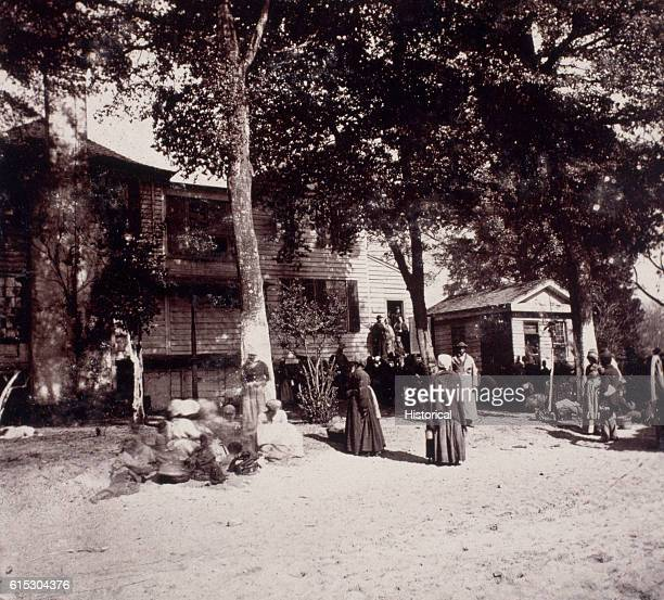 After the American Civil War the Bureau for the Relief of Freedmen and Refugees ran schools and rationed food to freed slaves Beaufort South Carolina...