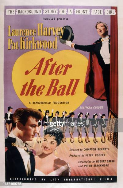 After The Ball poster poster bottom left Laurence Harvey Patricia Kirkwood 1957