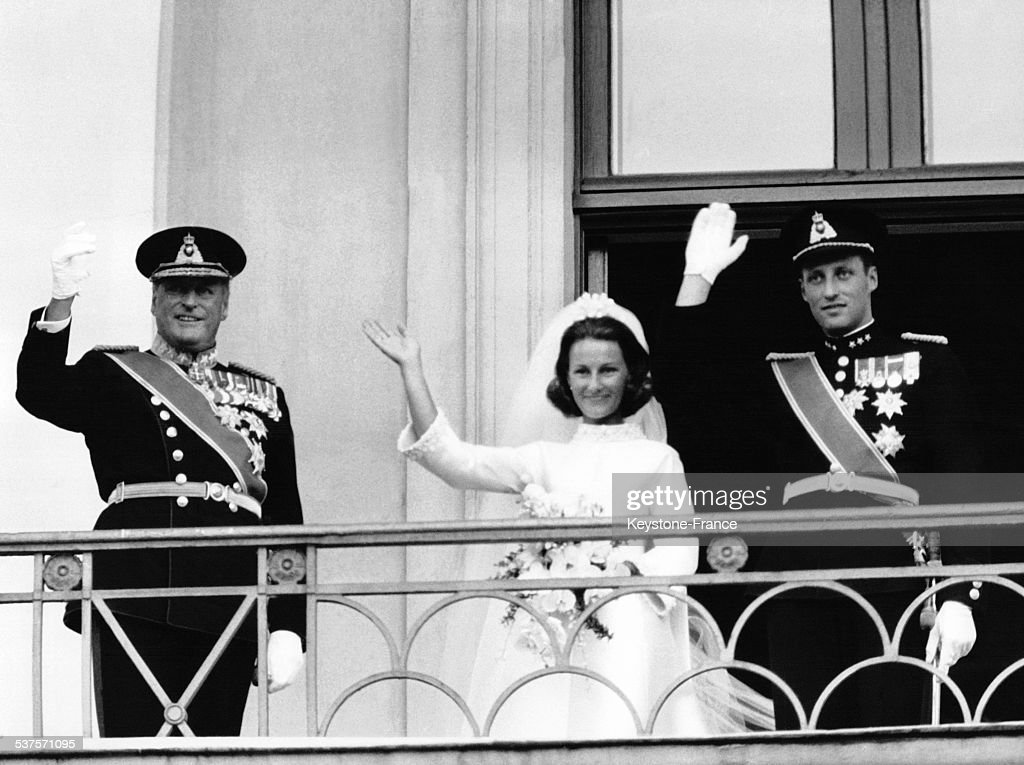 The Wedding Of Prince Harald : News Photo
