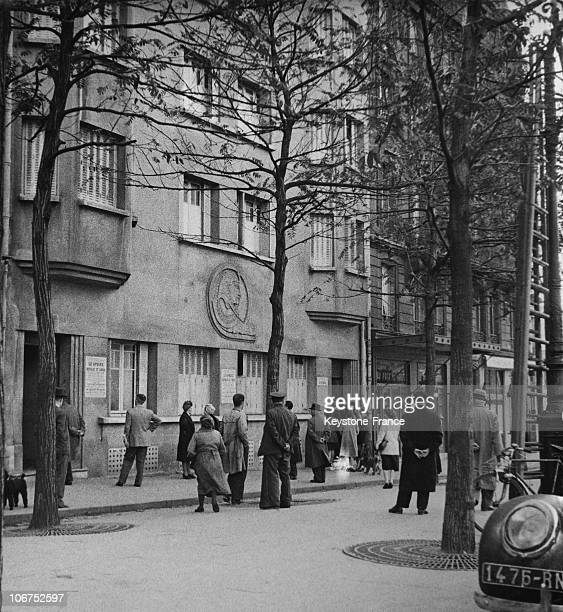 After The Closure Of The Sphinx, One Of The Parisian Brothels In October 1946, France, Paris