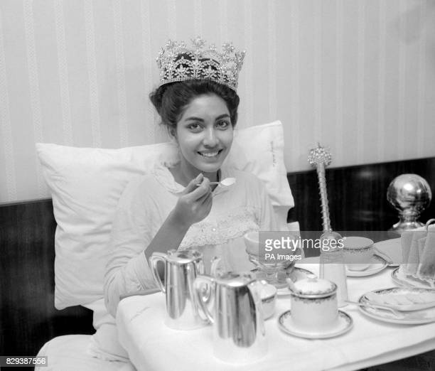 After the excitement of winning the Miss World crown it was breakfast in bed at the Waldorf Hotel, London, for Reita Faria, the first Indian girl to...