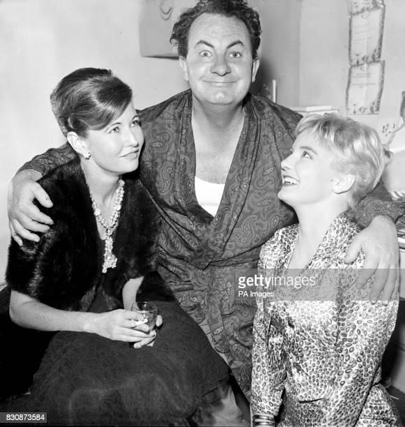 After the first performance of 'Rollo' a new play at the Strand Theatre stars Leo McKern and Jacqueline Ellis with Leo's wife Jane Holland can only...