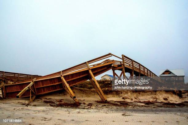 after the hurricane - 2018 hurricane florence stock pictures, royalty-free photos & images