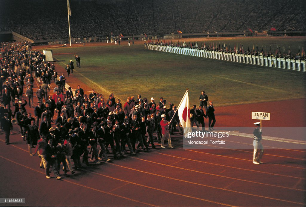 Final Parade At The Closing Ceremony Of Tokyo Olympic Games : ニュース写真