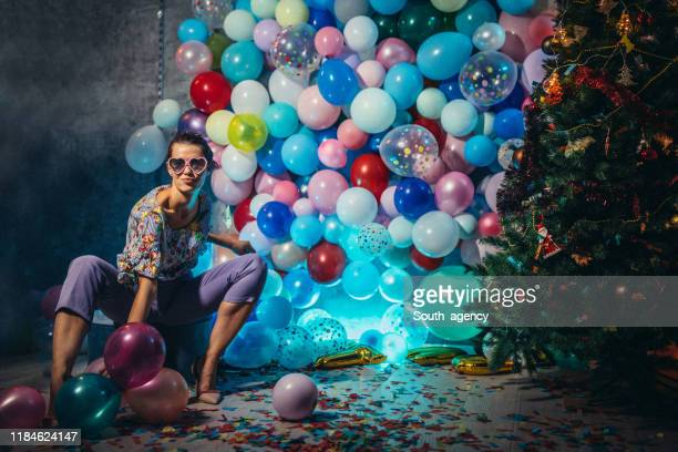after the new year party - cleaning after party stock pictures, royalty-free photos & images