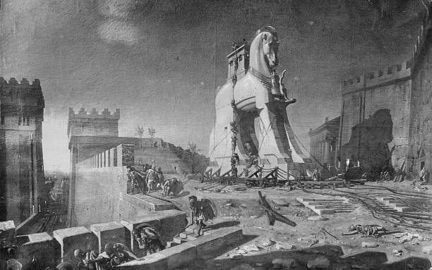 Trojan Horse Wall Art