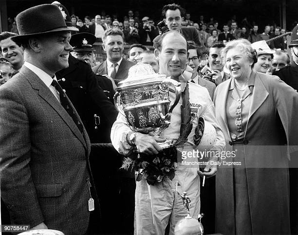 After the race. Stirling Moss won many major races in the 1950s, including the British Grand Prix and the Mille Miglia. Between 1951 and 1961 he won...
