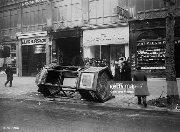 After The Riot Of 6Th February In Paris In 1934