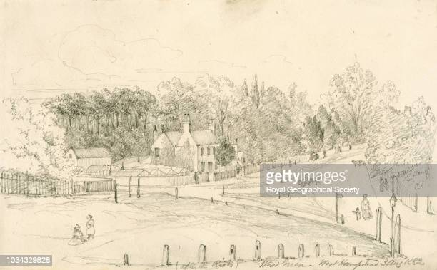 After the riots West Green West Hampstead London United Kingdom 03/08/1882