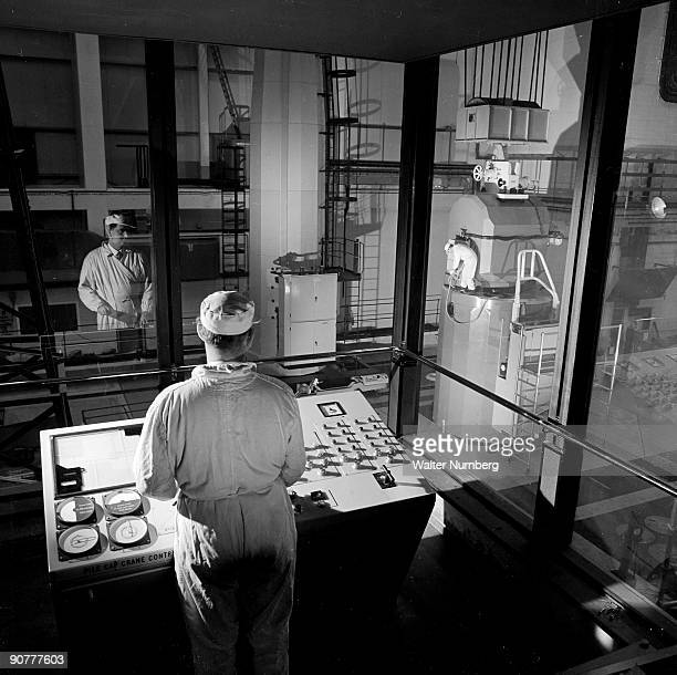 After the success of the prototype Calder Hall nuclear power station which went on line in 1956 the Atomic Energy Authority commissioned a further 9...