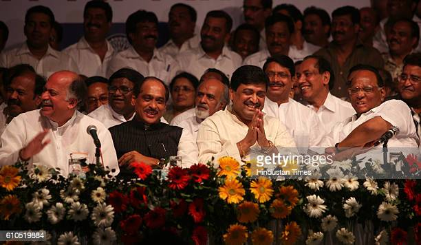 After weeks of tension regarding the sharing of seats congress and NCP shared a few light moments during RPI leader Ramdas Athavale 's speech at a...