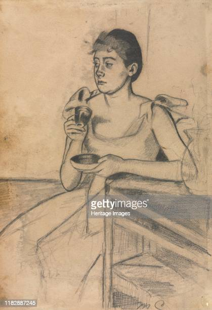 After-Dinner Coffee , circa 1889. Cassatt exhibited prints for the first time in 1880 at the fifth Impressionist exhibition. As the decade...