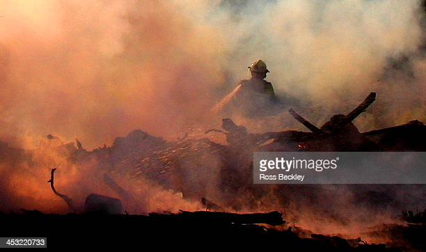 aftermath - firefighter stock pictures, royalty-free photos & images