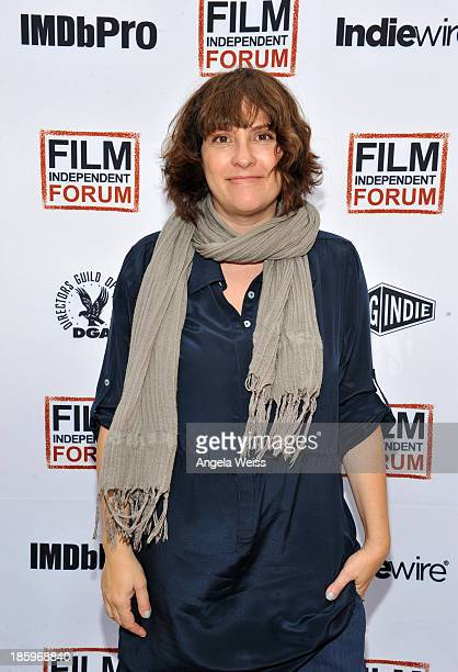 'Afternoon Delight' writer/director Jill Soloway attends the Film Independent Forum at the DGA Theater on October 26 2013 in Los Angeles California