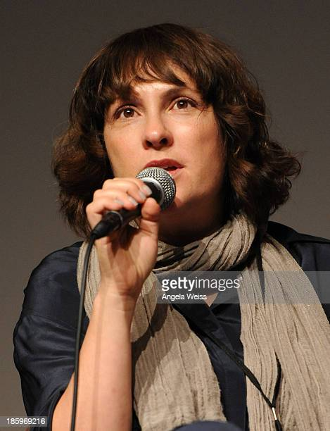 'Afternoon Delight' writer/director Jill Soloway speaks onstage at the Film Independent Forum at the DGA Theater on October 26 2013 in Los Angeles...