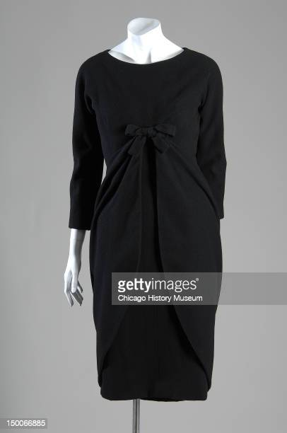 Afternoon dress 1948 Wool melton by Cristobal Balenciaga