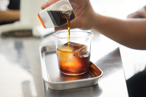 afternoon drink with Cold Brew Coffee - gettyimageskorea