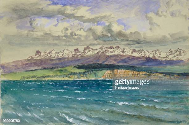 Afternoon in Spring, with south Wind, at Neuchatel, 30 April 1869. Artist John Ruskin.