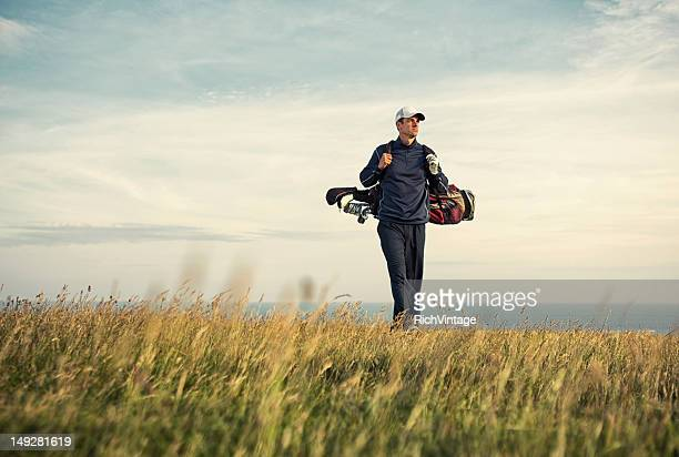 afternoon links - golf stock pictures, royalty-free photos & images