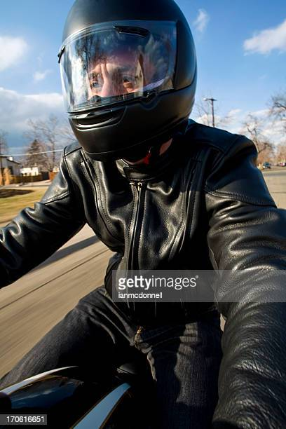 afternoon ride - helmet visor stock pictures, royalty-free photos & images