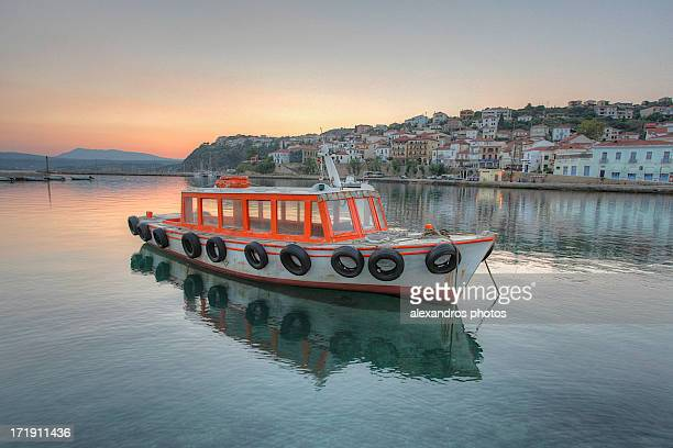 afternoon serenity - peloponnese stock photos and pictures