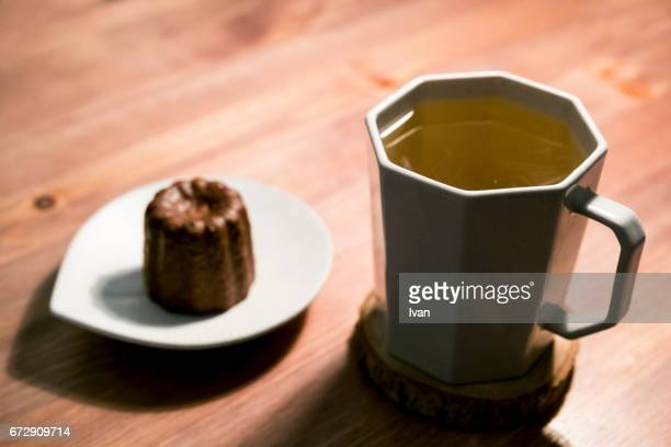Afternoon Tea, Canelé and Hot Tea