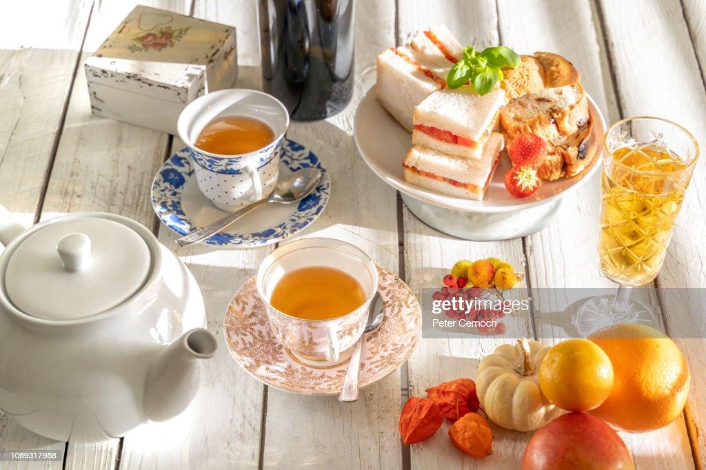 afternoon tea : Stock Photo