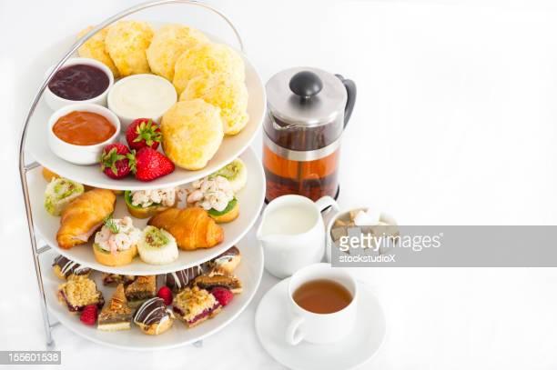 Nachmittagstee und Tee