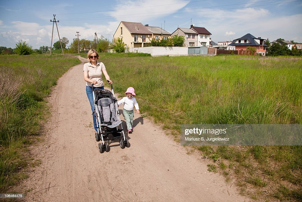 Afternoon walk : Stock Photo