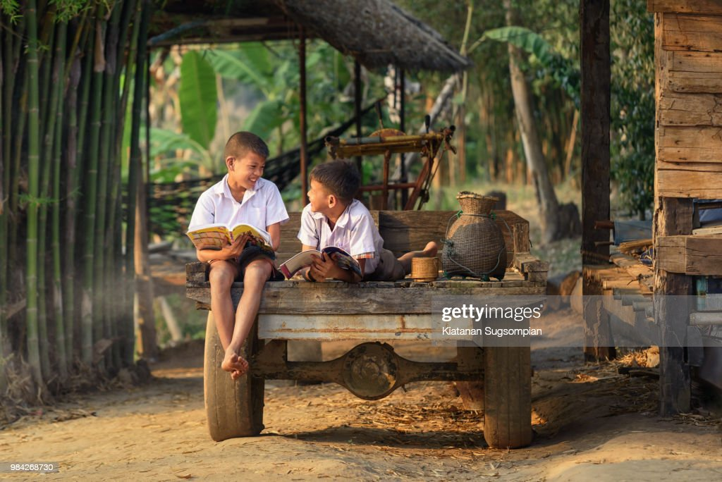 After-school Learning : Stockfoto