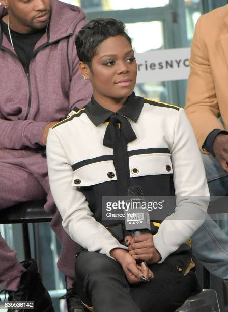Afton Williamson attends Build series to discuss 'The Breaks' at Build Studio on February 15 2017 in New York City