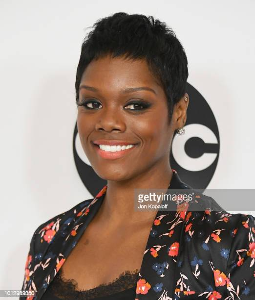 Afton Williamson attends Disney ABC Television Hosts TCA Summer Press Tour at The Beverly Hilton Hotel on August 7 2018 in Beverly Hills California