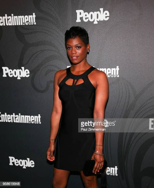 Afton Williamson attends the 2018 Entertainment Weekly PEOPLE Upfront at The Bowery Hotel on May 14 2018 in New York City
