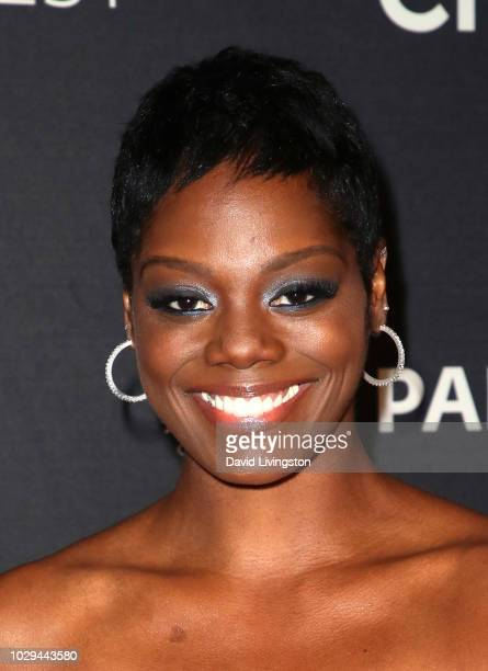 Afton Williamson from 'The Rookie' attends The Paley Center of Media's 2018 PaleyFest Fall TV Previews ABC at The Paley Center for Media on September...