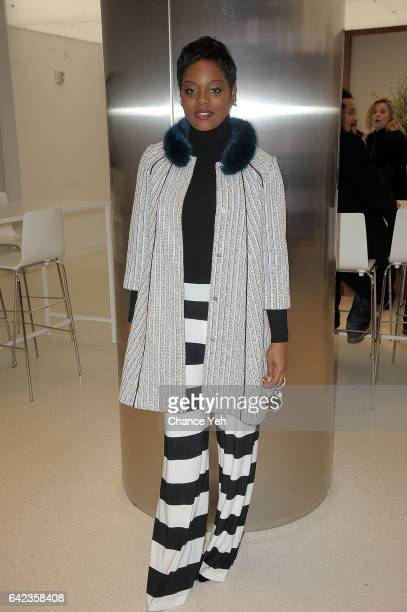Afton Williamson of Vh1's 'The Breaks' attends the Nasdaq opening bell at NASDAQ on February 17 2017 in New York City