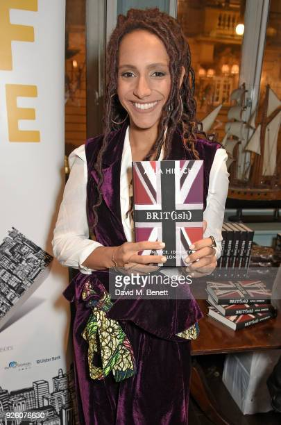 Afua Hirsch attends the launch of the 'London's Big Read' campaign in celebration of World Book Day at LIBRARY on March 1 2018 in London England