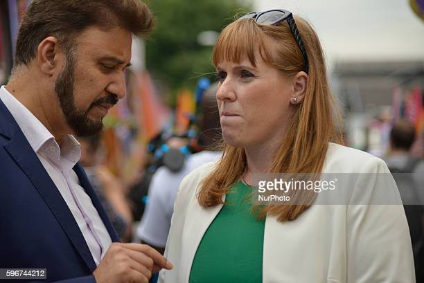 Afzal Khan MEP Member of the European Parliament for NorthWest England and Angela Rayner MP Member of Parliament for AshtonUnderLyme and Shadow...