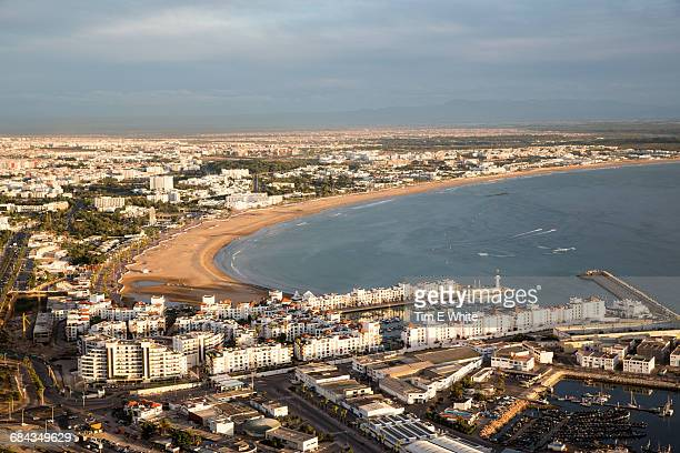 Agadir bay from above, Morocco