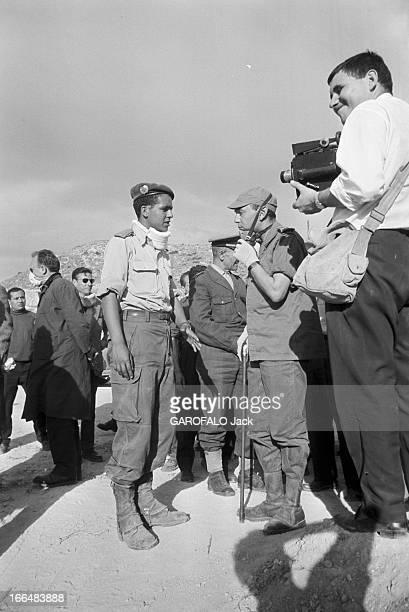 Agadir Earthquake Maroc Agadir mars 1960 La ville a été partiellement détruite par un tremblement de terre le 29 février 1960 ici deux militaires...