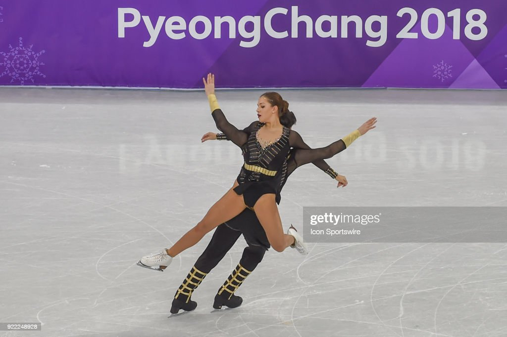 Olympics feb 20 pyeongchang day 13 pictures getty images agafonova alisa and alper ucar tur skate in the free dance of the ice voltagebd Gallery