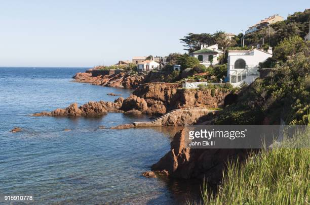 agai town view - holiday villa stock pictures, royalty-free photos & images