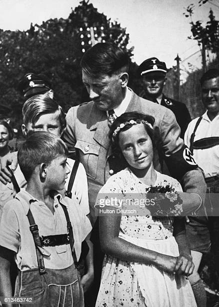 Again And Again One Sees Pictures Of The Fuhrer Surrounded By Children